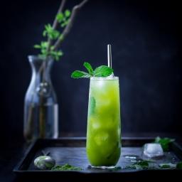 Matcha Mint Juleps