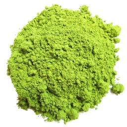 A lot of people swear by the skin brightening properties of Matcha